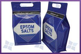 Flat Bottom Pouches - Epsom Salts