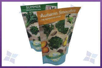 Stand-Up Pouches - Green Smoothies
