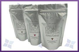 Printed Stand Up Zipper Pouch - Bone Broth