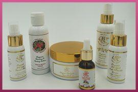 Custom Printed Labels - Organic Rosehip Skincare