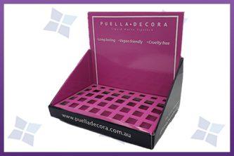 Custom printed Counter Display - Puella Decora