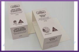 Custom printed & die cut carton sleeves - coles