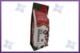 Flat Bottom Pouches - Jaques Espresso
