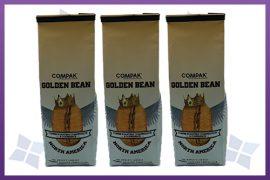 Side Gusset Bags tin tie - Coffee-various