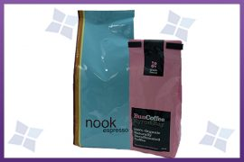 Gloss Side Gusset Bags - Coffee - Various