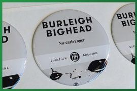 Resined Badge Beer Taps - Burleigh Big Head