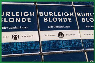 Resined Badge Beer Taps - Burleigh Blonde