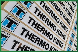 Resined Badges - Thermo King