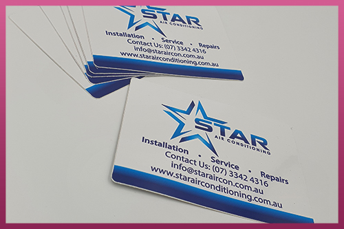 Custom Printed Stickers - Star Air Conditioning