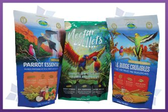 Stand-Up Pouches - Bird Feed Packaging