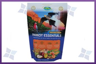 Stand-Up Pouches - Parrot Food Packaging