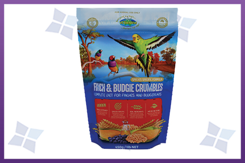 Finch & Budgie Food Packaging