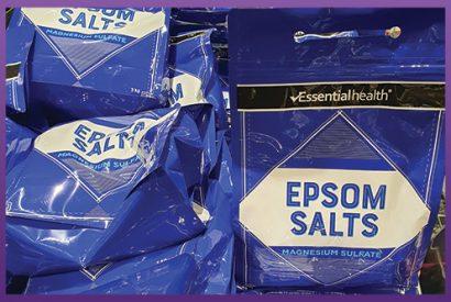 Flat Bottom Zipper Pouches - Aldi Epsom Salts