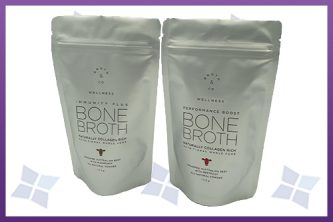 Stand-Up Zipper Pouches -Broth & Co