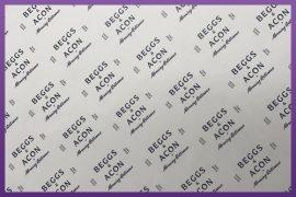 Custom Printed Greaseproof Paper - Beggs & Acon