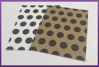 Custom Printed Greaseproof Paper - Downtown dogs