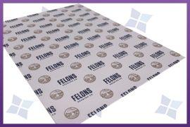 Custom Printed Greaseproof Paper - Felons