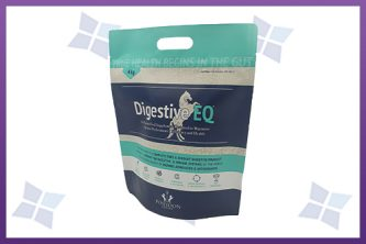 Stand-Up Zipper Pouches - Equine Food