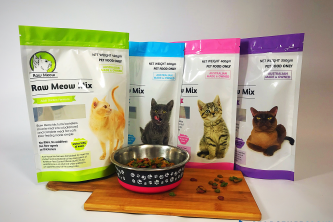 Stand-Up Zipper Pouches – Raw Meow Family
