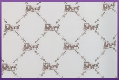 greaseproof paper - horse and cart