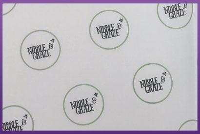 Greaseproof Paper - Nibble & Graze